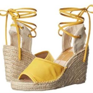 Beautiful bright summer buttery soft wedges